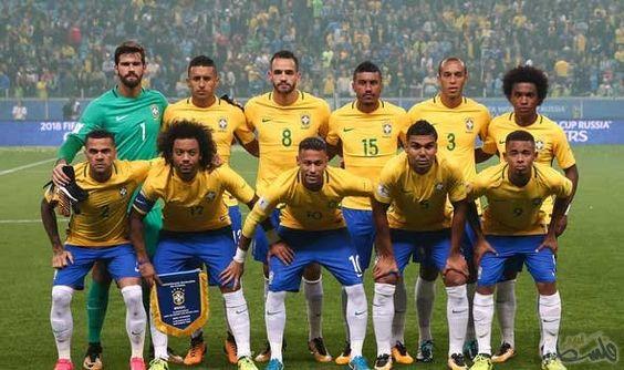 المنتخب البرازيلي في باريس استعداد ا لمواجهة اليابان ودي ا Manchester City World Sports Jersey