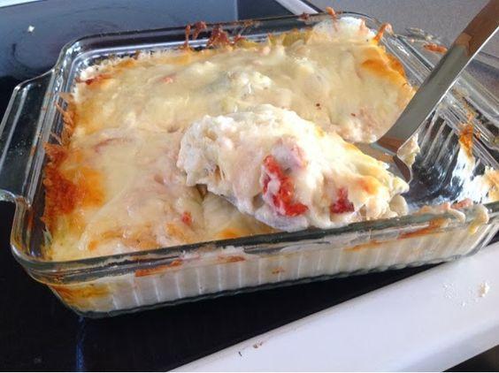 Lasagne, Chicken lasagna and Low carb noodles on Pinterest