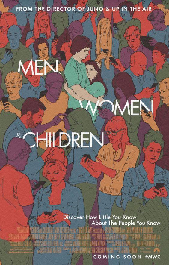 """""""Homens, Mulheres e Filhos"""" (Men, Woman and Children - 2014) O que laudo ponto azul"""