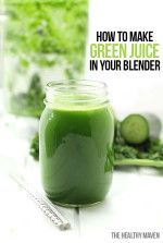 Make Simple Green Juice in your blender following just 3 easy steps! It's a no-fuss, budget-friendly recipe anyone can make at home.