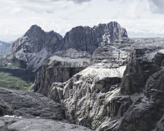 I Monti Pallidi - Bleiche Berge by Giacomo Magnani, via Behance