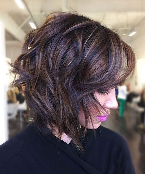Edgy Short Layered Hairstyles 2019 For Women You Might Wish To Try It Full Dose Short Layered Bob Hairstyles Short Hair Styles Short Hair With Layers
