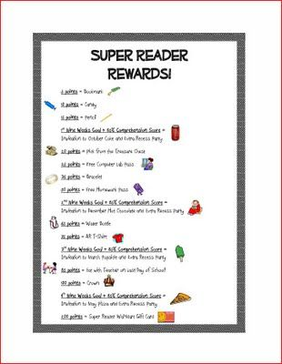 Accelerated Reader rewards