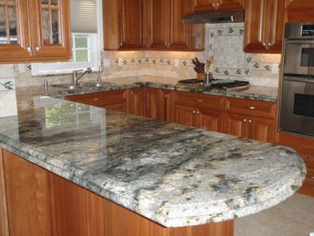 Granite countertops granite countertops granite for How to clean kitchen countertops