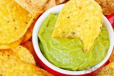 Receita de Guacamole I (típico mexicano) em receitas de molhos e cremes, veja essa e outras receitas aqui!