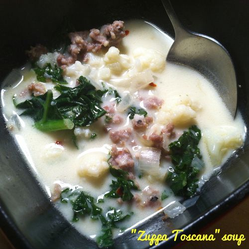 Whole30 Version Of The Famous Zuppa Toscana Soup From Olive Garden A Really Simple Recipe