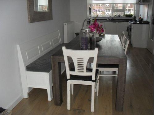 Zitkussen voor klepbank 140 cm kussens voor op de klepbanken de mooiste meubelen - Leunstoel voor eetkamer ...