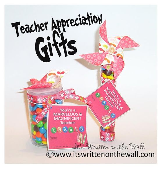 Freebies  51 Teacher Appreciation Notes/Cards-Different sizes and designs to perfectly match the gift you've purchased