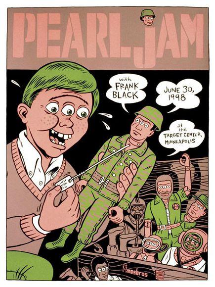 Recopilación: Los mejores carteles de Pearl Jam