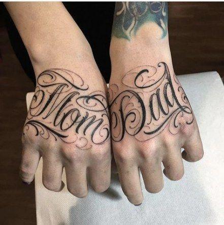 Best Tattoo Fonts Initials Words 33 Ideas Tattoo Tattoo Lettering Fonts Hand Tattoos Best Tattoo Fonts