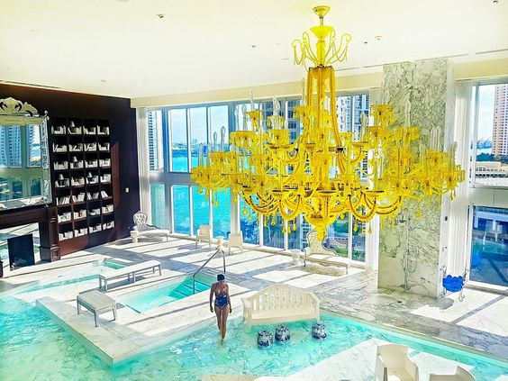 Standard Spa Miami Hotel Hammam Spa Pinterest Spa and Miami - whirlpool im wohnzimmer