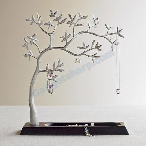 Holder stylish jewelry cute jewelry tree stands scroll saw jewelery