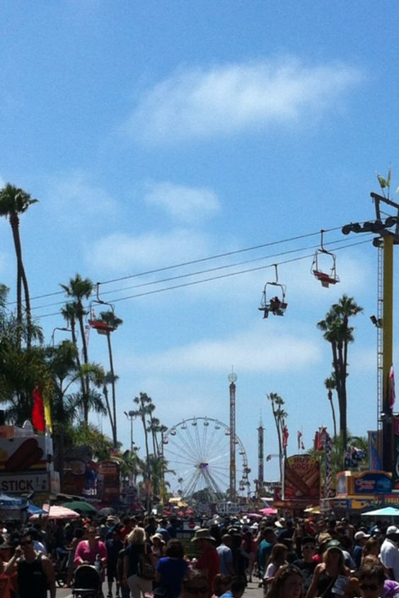 San Diego Delmar Fair, Summer, Traditions, The Beatles, Food, California