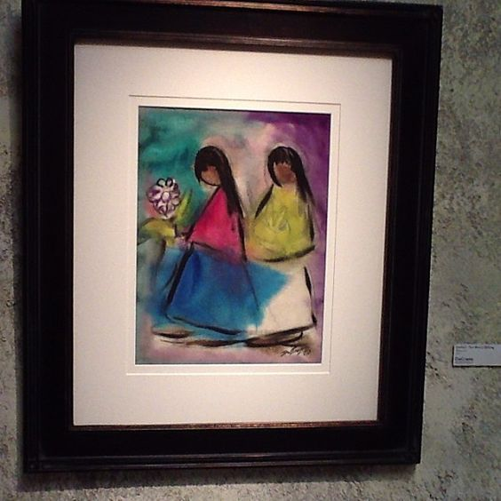"Photo by degraziagallery ""DeGrazia Watercolors"" Jan. 25, 2013 - July 31, 2013"