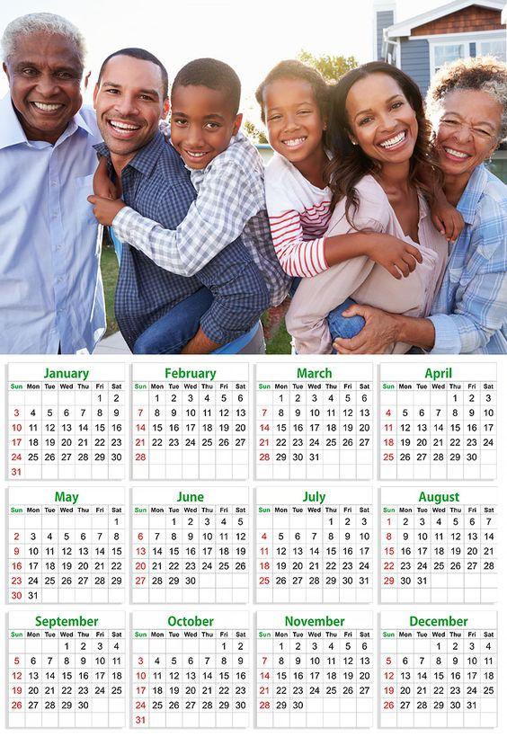 Bajan Custom Calendars