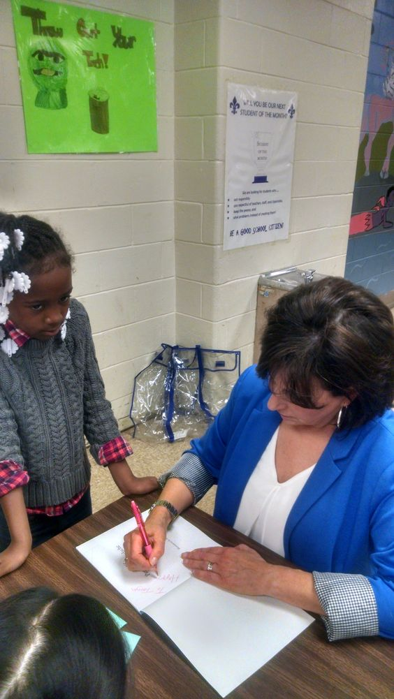 #Book Signing at #Greenburg Elementary.