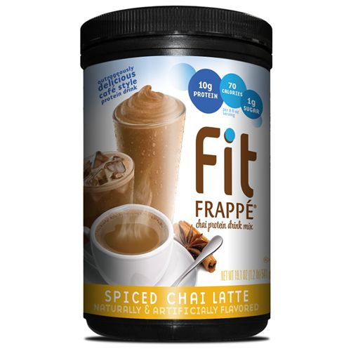 The delicious flavor of Spiced Chai gets a protein boost in this sweet and spicy #FitFrappe.
