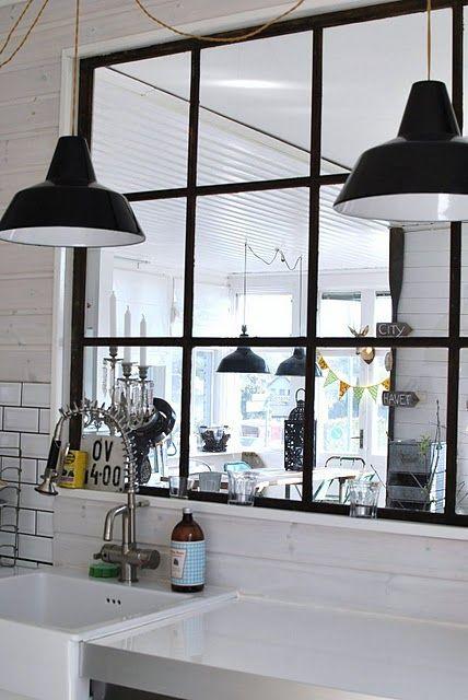 Fönster fönster vardagsrum : Det optimala gamla fönstret mellan kök o vardagsrum | Kitchen ...
