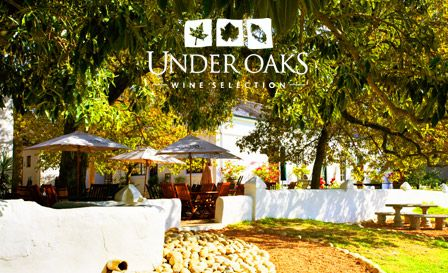 Under Oaks - my favourite pizza place in Paarl. Beautiful views of the valley....and literally under the oaks!