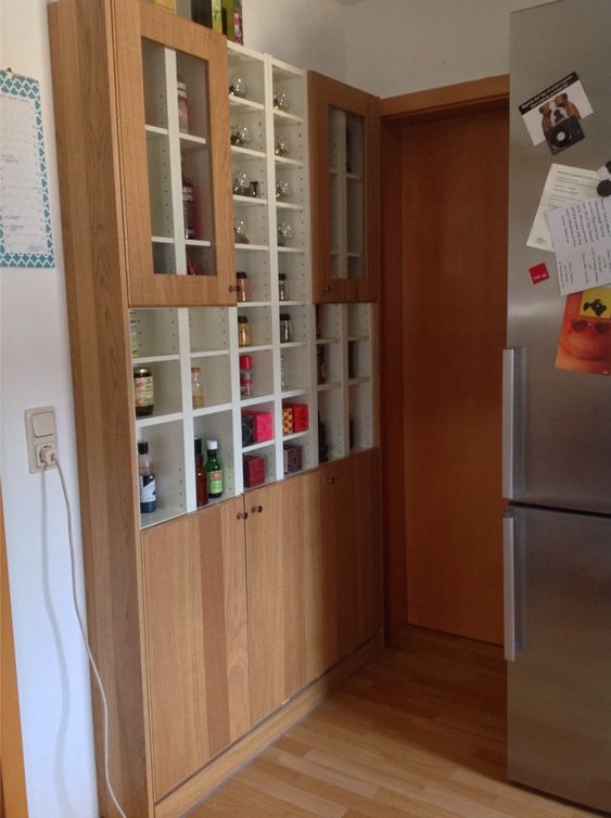 After the renovation of our kitchen we have a wasted small niche. Then I had a brilliant idea.