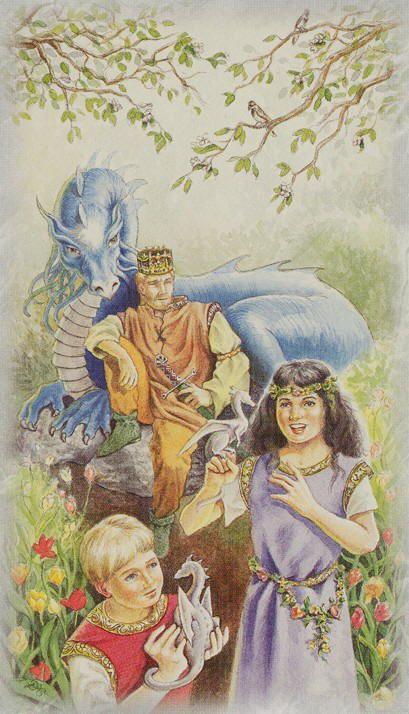 The Emperor  - Celtic Dragon Tarot