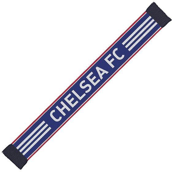 """Chelsea 3S Schal    Der Chelsea 3S Schal ist optimal fürs Stadion oder andere Freizeitaktivitäten geeignet. Der Chelsea 3S Schal besteht aus 100% Baumwolle und liefert somit optimalen Tragekomfort.Chelsea London ist eine bekannte und erfolgreiche Mannschaft. Zeige mit dem Chelsea 3S Schal von welchem Verein DU bist!""""    Hersteller: adidas  Team: Chelsea London  Material: 100% Baumwolle..."""