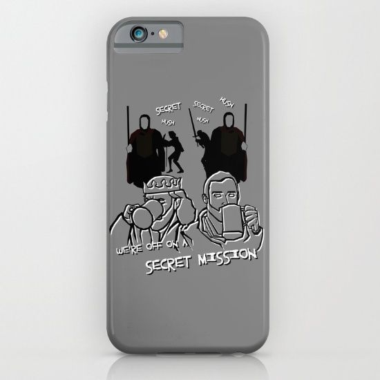 We're off on a Secret Mission iPhone & iPod Case