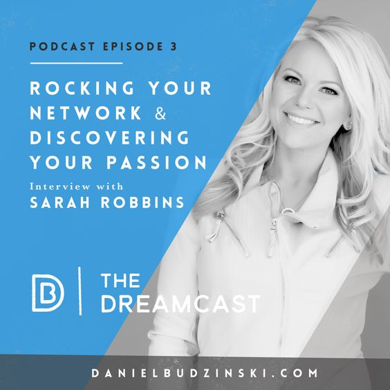 """The 3rd Episode Is Launched! Share & inspire! http://danielbudzinski.com/podcast/sarah-robbins @sarahrobbins123 went from kindergarten teacher to extraordinary network marketer. She's now in the top 1% of income brackets for women in America. She's coached 1,000s & was the 1st inducted into the """"5 Million Dollar Circle Achiever"""" with her business. This show will help you find your passion & make it your profession. Subscribe, Share & Listen…"""