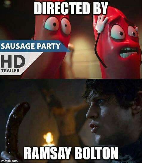 Ramsay Bolton vs Sausage Party