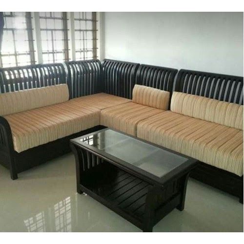 L Shaped Wooden Sofa Set Sofa Set 5 Seater Carved Wooden Sofa Set Manufacturer From Buy Solace L Shaped W In 2020 Wooden Sofa Set Sofa Set Designs Carved Wooden Sofa