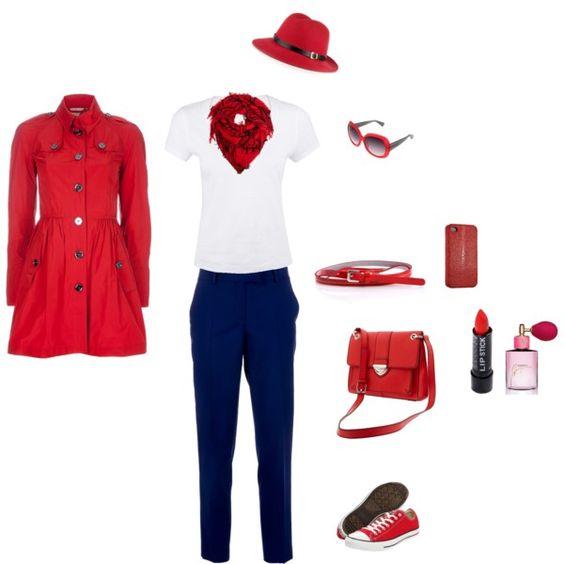La chica de rojo (by Yo)