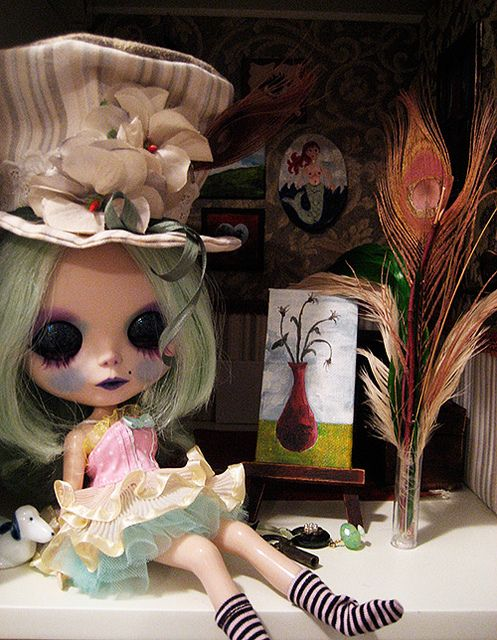 Jaimes Ivy in new lashes   Flickr - Photo Sharing!