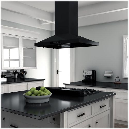 Zline Professional 36 Gas Cooktop With 6 Burners Black Stainless Steel Rtb 36 Best Buy Island Range Hood Kitchen Installation Range Hood