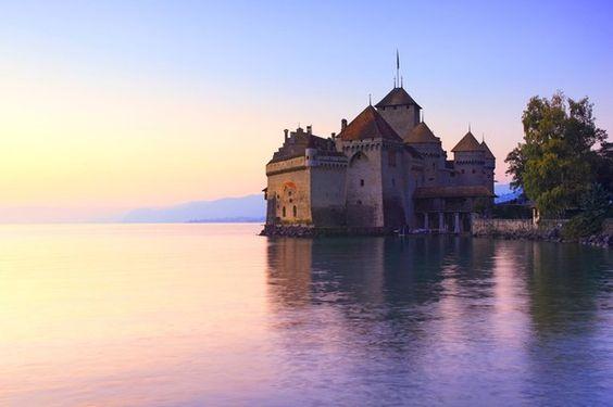 chillon | Schloss Chillon am Genfersee - GMX