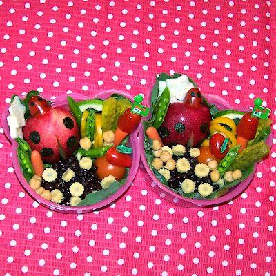 Bentos on the Bayou: Vegan Ladybug Bento