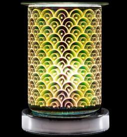 Touch Sensitive Aroma Tube Burner Aroma Oil Warmer Halogen Bulbs