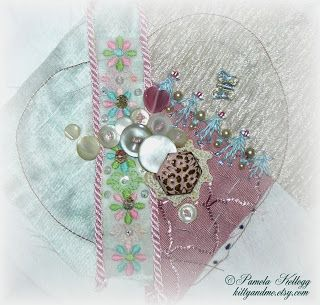 Crazy Quilting and Embroidery Blog by Pamela Kellogg of Kitty and Me Designs