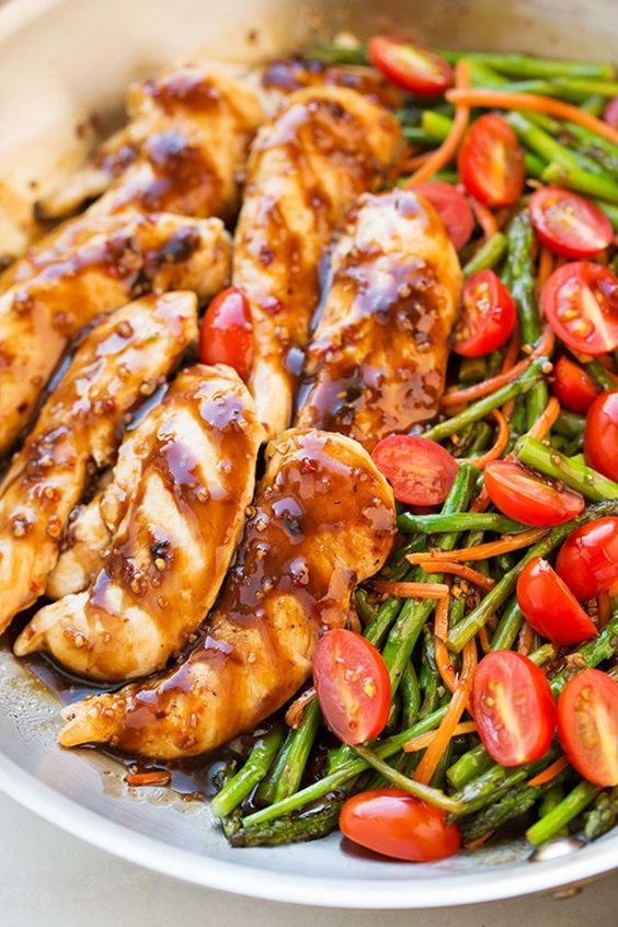 One Pan Balsamic Chicken and Veggies - Delicious Lunch or Dinner Recipe |  Cooking Classy #onepot #onepotmeals #onepotchicken #chicken #balsamicchicken