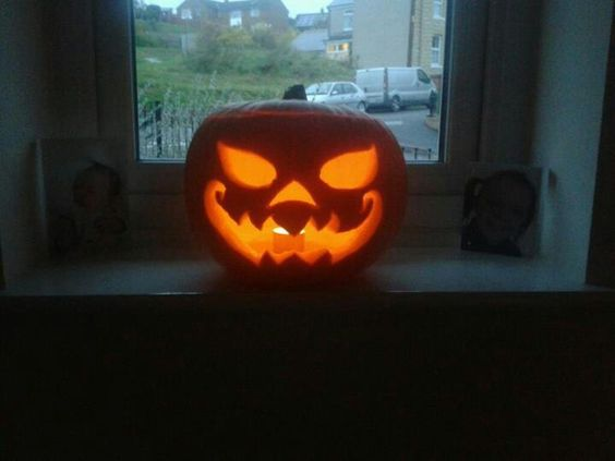 Pumpkin Face :-) x