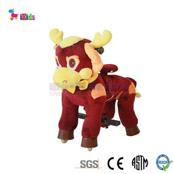 Mã sản phẩm: KLT2012-01-K Size: S Kích thước: 66 cm (Chiều dài thân) x 72 cm (Chiều cao) Tải trọng tối đa: 35 kg Độ tuổi phù hợp: 3 - 8 tuổi Giới tính: Phù hợp cho cả bé...