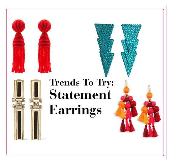 Trends To Try: Statement Earrings