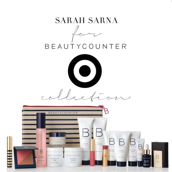 The Sarah Sarna for Beautycounter Target Collection launches on Monday September…