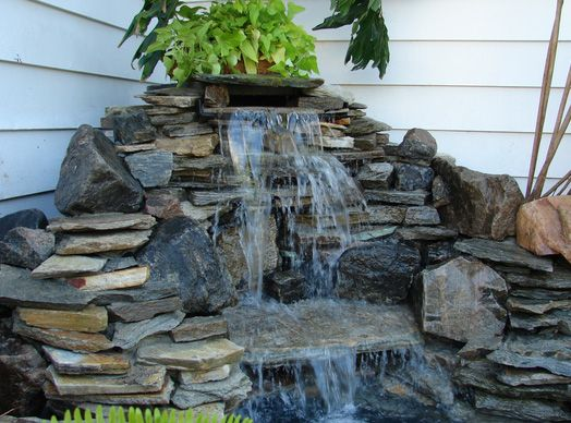 Gardens Pond Waterfall And The O 39 Jays On Pinterest