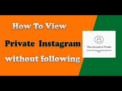 Photos following private to without instagram how view How To