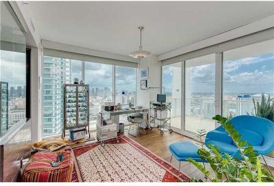 Office Space 1040 Biscayne Boulevard, Unit 3207, Miami, FL, 33132 #TenMuseumPark #madeleineromanello #realmiamibeach 