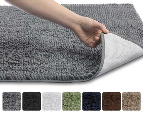 Top 10 Best Bathroom Rugs In 2020 Reviews Chenille Bathroom Rugs