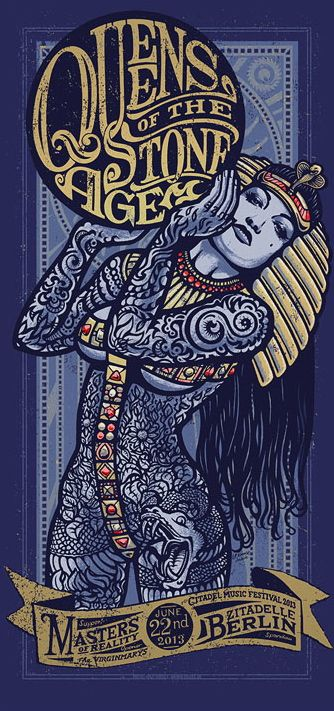 pinterest.com/fra411 #Poster - Queens of The Stone Age:
