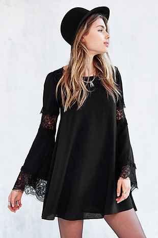 For Love & Lemons Ribbed Festival Dress - Urban Outfitters