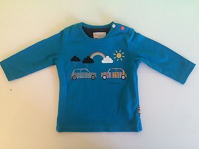 Boys-Paul-Smith-Long-Sleeve-Top-Mini-Cars-3-Months-Worn-Once