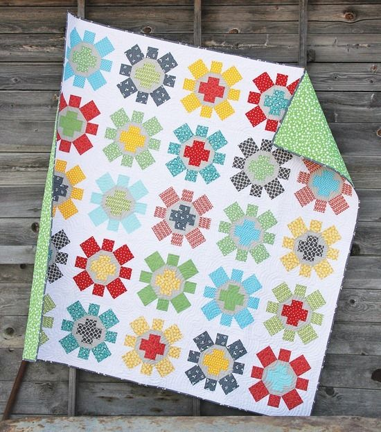 Spin Cycle quilt by cluck cluck sew